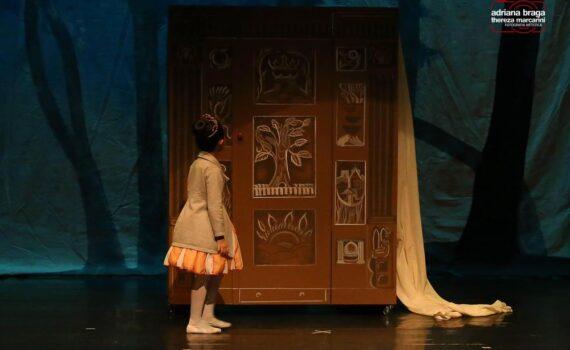 Espetáculo Nárnia, A feiticeira, o guarda-roupa e o leão