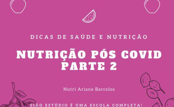 Estratégias nutricionais pós Covid-19
