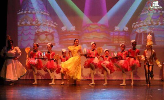 Espetáculo de dança a Bela e Fera